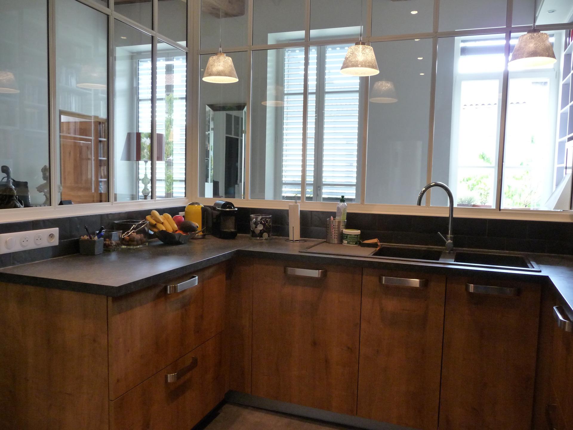 lsai r novation d 39 une cuisine lyon 5. Black Bedroom Furniture Sets. Home Design Ideas