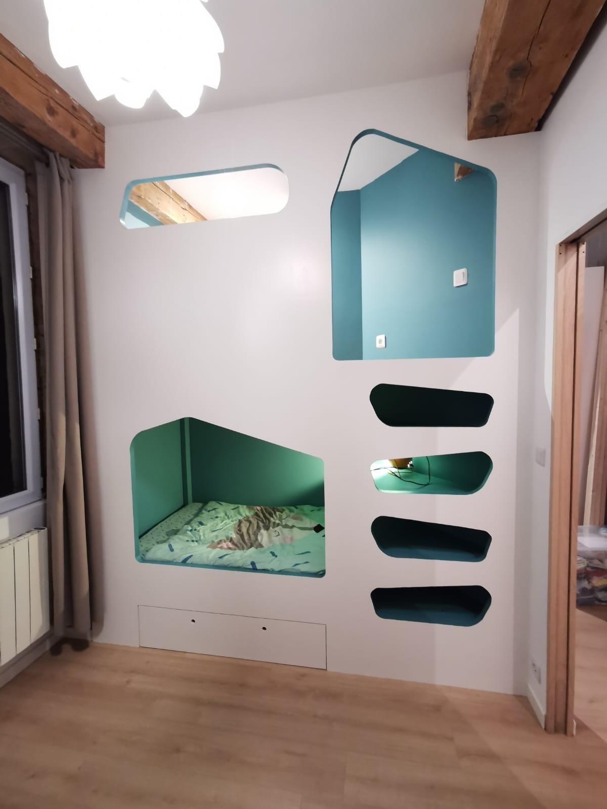 Une chambre pour 2 enfants